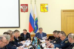Прошло совместное заседание антитеррористической комиссии  в Кировской области и оперативного штаба в Кировской области